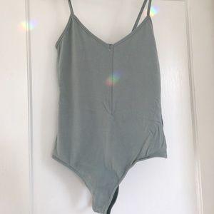 light green bodysuit